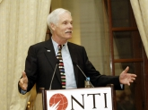 Ted Turner at NTI podium