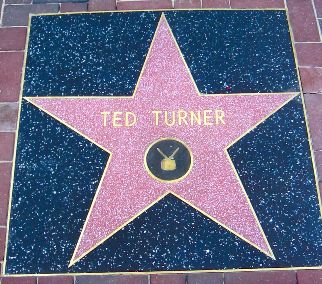 Receives a star on the Hollywood Walk of Fame