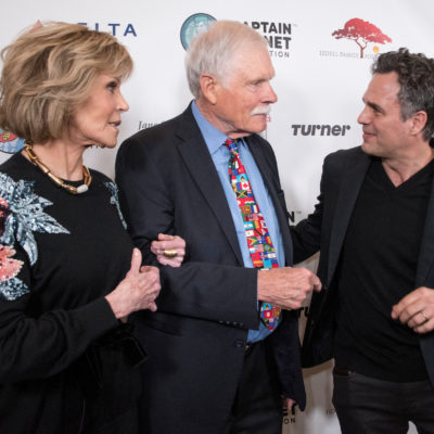 Ted Turner Rocks the Green Carpet